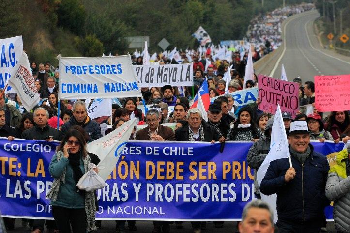 Marcha de Profesores 11/06/19